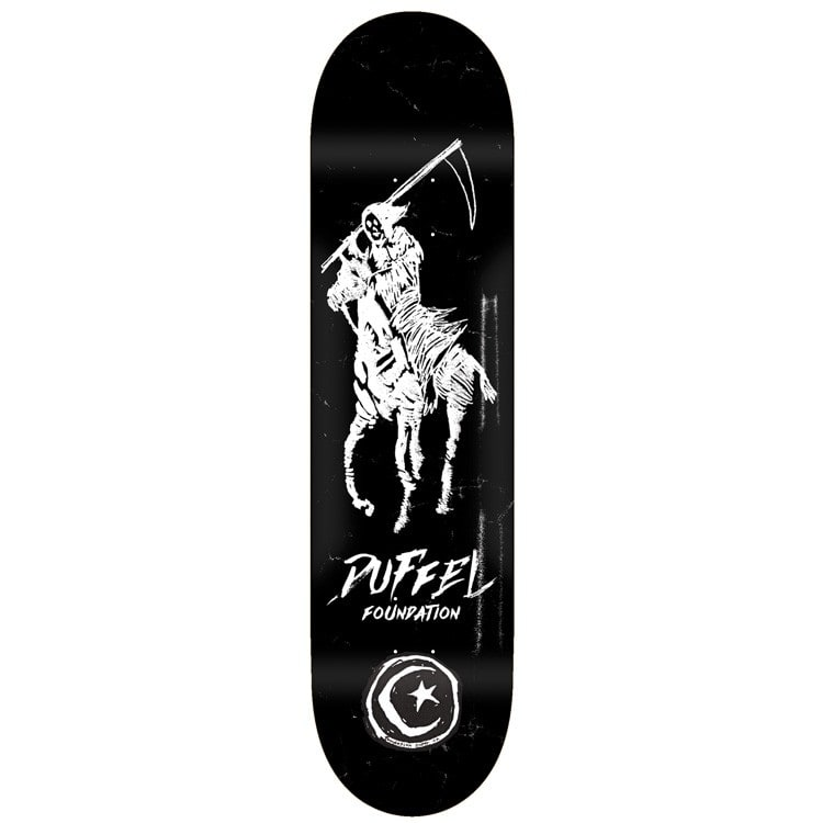 Foundation Duffel Reaper Polo Pro Skateboard Deck - 8.25""