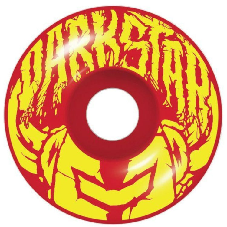 "Darkstar Badge Complete Skateboard 7.5"" - Rasta"