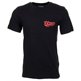 Uppercut Deluxe Stay Bold Script T-Shirt - Black/Red