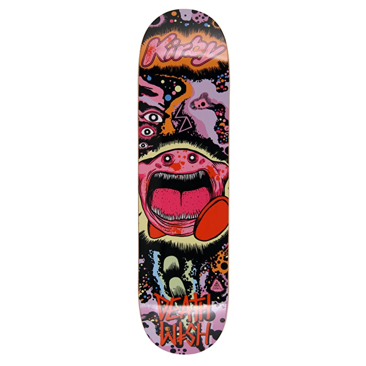 Deathwish Death Toons Kirby Skateboard Deck - 8.25""