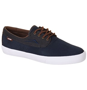 Lakai Camby Shoes - (Suede) Navy