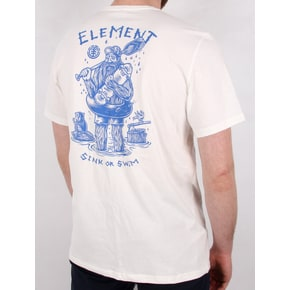Element River Keeper T-Shirt - Bone White