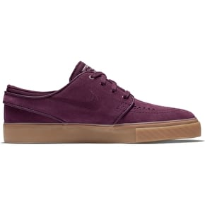 Nike SB Zoom Janoski Womens Skate Shoes - Night Maroon/Night Maroon