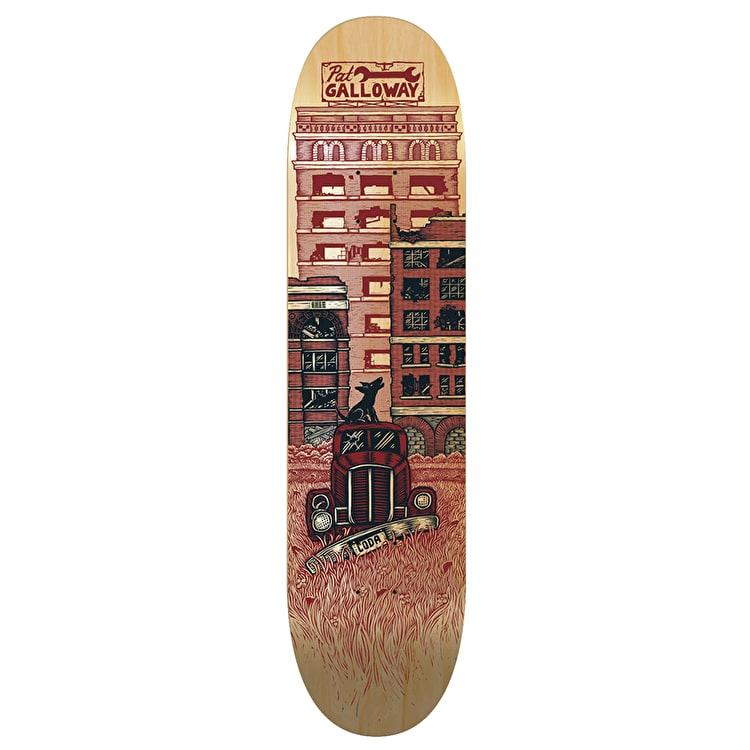 Coda Galloway Downtown Pro Skateboard Deck - 8.5""