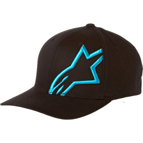 Alpinestars Corp Shift 2 Flexfit Cap - Black/Blue