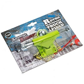 Karnage Retro Skateboard Truck - Green (Single)