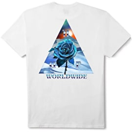 Huf Ice Rose Triangle T Shirt - White