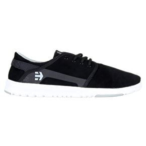 Etnies Scout Shoes - Black/Grey/White