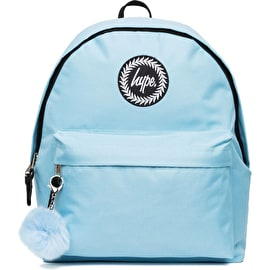 Hype Pom Pom Backpack - Baby Blue