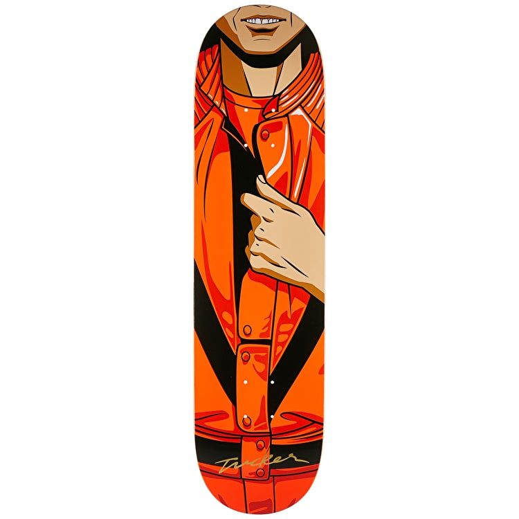 Primitive King Of Pop Skateboard Deck - Tucker 8""