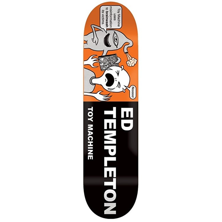 Toy Machine Templeton Tract Pro Skateboard Deck - 8.5""