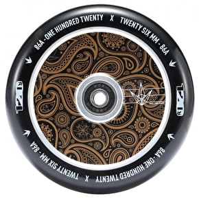 Blunt 120mm Hollow Scooter Wheel - Bandana Gold