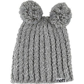 Neff Jade Beanie - Grey Heather