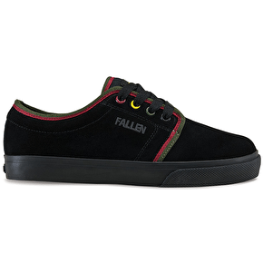Fallen Forte II Kids Shoes - Black/Rasta