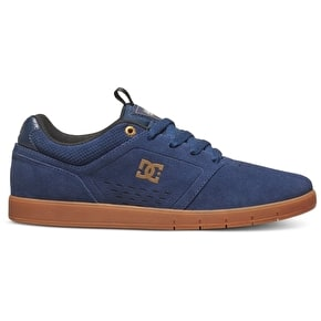 DC Cole Signature Skate Shoes - Navy/Gum