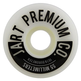 Jart Analogic 102a Skateboard Wheels - Grey 55mm