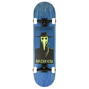 Birdhouse Stage 3 Plague Doctor Complete Skateboard - Blue 8