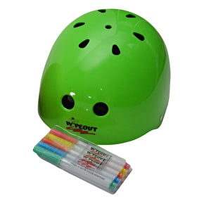 Triple 8 Kids Wipeout Helmet - Neon Green