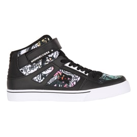 DC Pure HT SE EV Kids Skate Shoes - Black/Multi