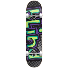 Blind Matte OG Logo First Push Complete Skateboard - Green/Purple 7.75