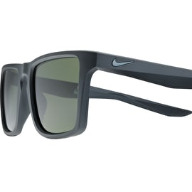 Nike SB Verge Sunglasses - Anthracite/Cool Grey With Green Lens