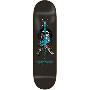 Deathwish Sword and Mule Skateboard Deck - Ellington 8.25''