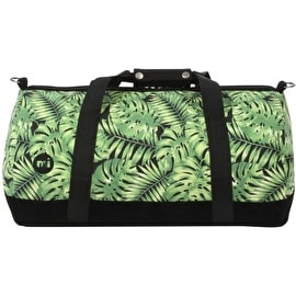 Mi-Pac Tropical Leaf Duffel Bag - Black