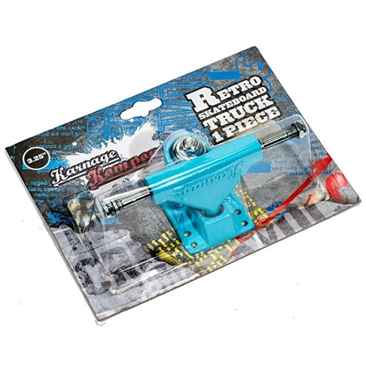B-Stock Karnage Retro Skateboard Truck - Blue Single (packaging damaged)