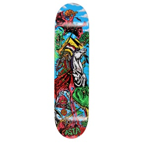 Santa Cruz Asta True Story Skateboard Deck - Multi 8