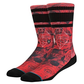 Stance Prowler Socks - Red