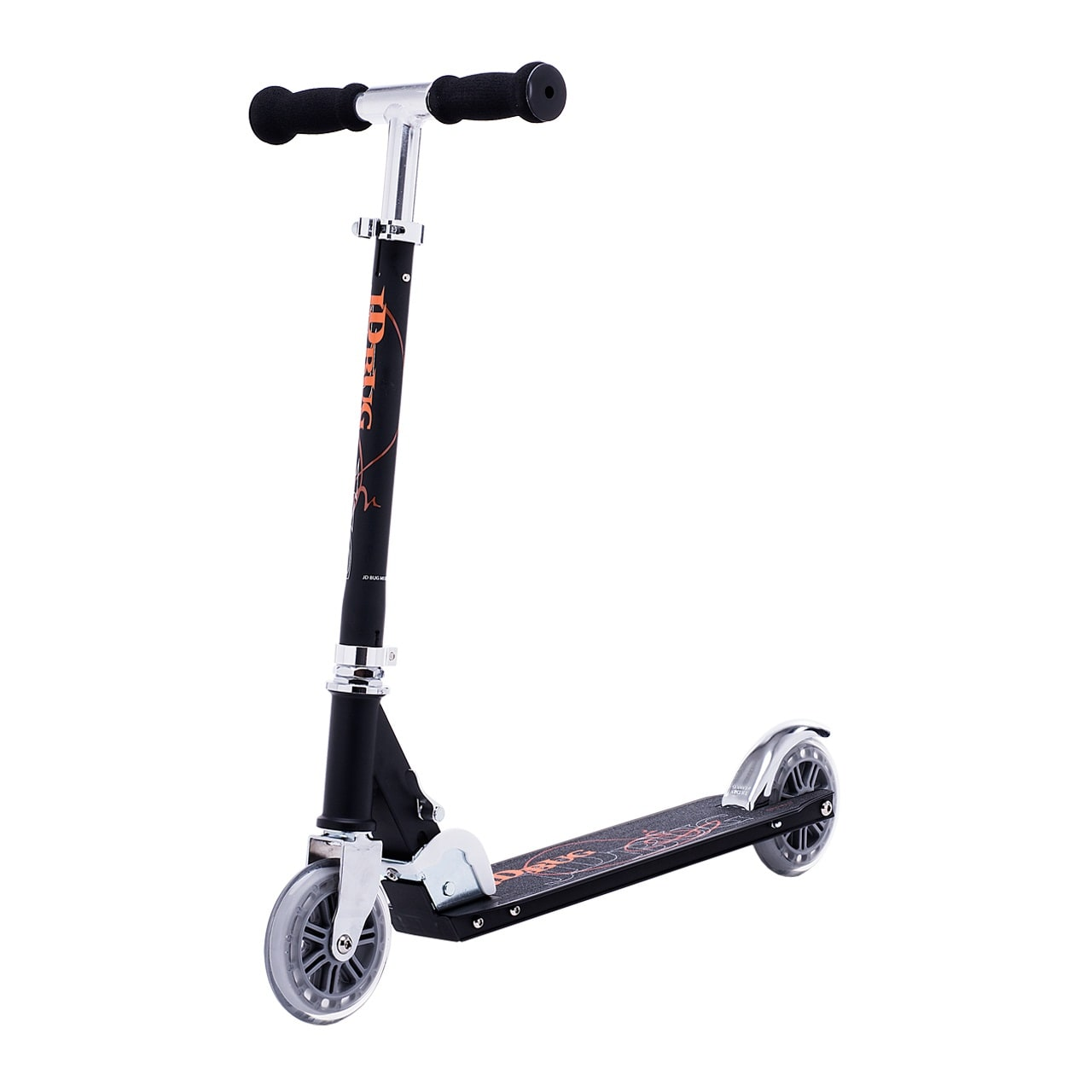 JD Bug Classic Street 120 Folding Scooter  Matt Black