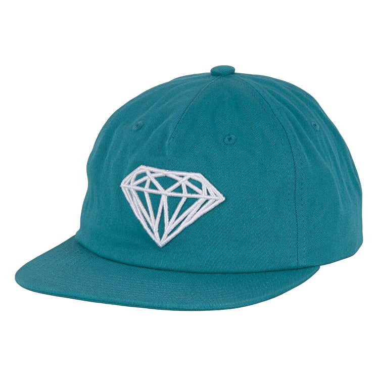 6e6def8be974d ... where can i buy diamond supply co brilliant unstructured snapback cap  blue 51446 454ff
