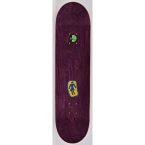 Girl Branded Skateboard Deck - Mike Mo 8.125
