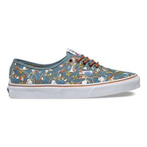 Vans x Toy Story Authentic Kids Shoes - Woody/True White