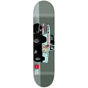 Chocolate Monster Trucks Skateboard Deck - Alvarez 8