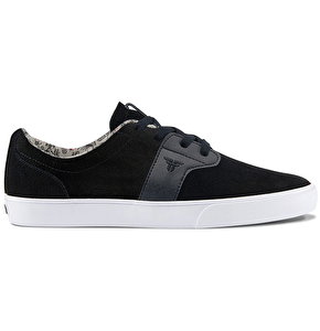 Fallen Chief XI Skate Shoes - Flat Black/Black