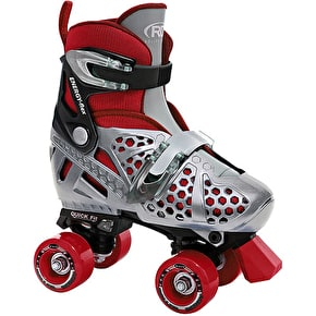 Roller Derby Trac Star 2014 Adjustable Quad Roller Skates- Boys