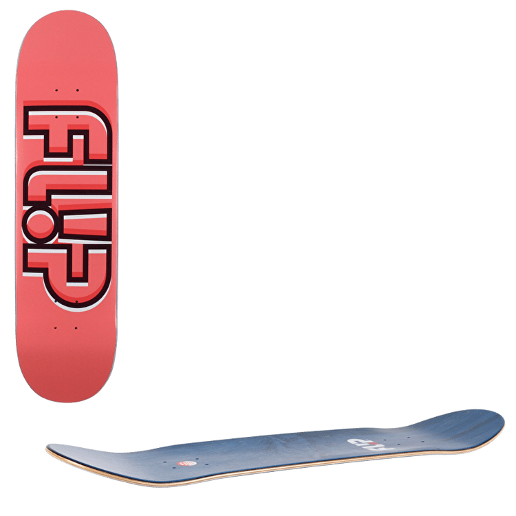 Flip Odyssey Depth Skateboard Deck - Pink 8.13""