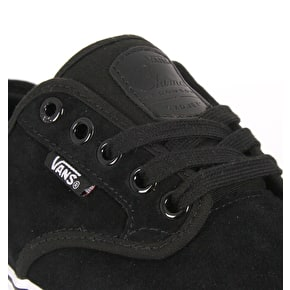 Vans Chima Furguson Pro Skate Shoes - (Suede) Black/White