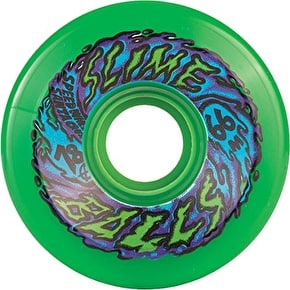 Santa Cruz Slime Balls 78a Skateboard Wheels - Neon Green 66mm