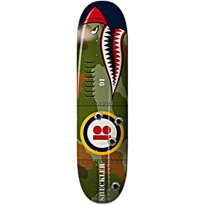 Plan B Shark Mini Skateboard Deck - Sheckler 7.625