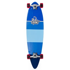 Voltage Stubby Pintail Longboard - Blue