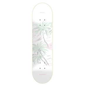 National Skateboard Co Jugga Skateboard Deck - White - 8.5