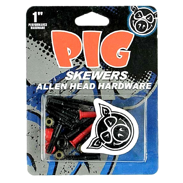 "Pig Skewer 1"" Allen Bolts"