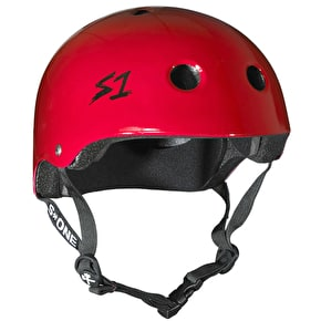 S1 Lifer Kids Multi Impact Helmet - Red Gloss