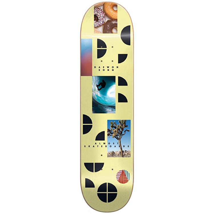Almost Fragments - Daewon Song Skateboard Deck 8.25""