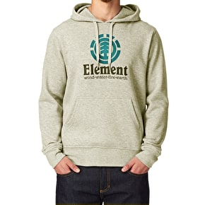 Element Vertical Hoodie - Ivory Heather