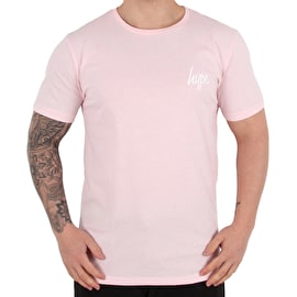 Hype Glitch Rose T shirt - Pink/Blue