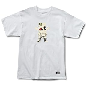 Grizzly Trail Map OG Bear T-Shirt - White