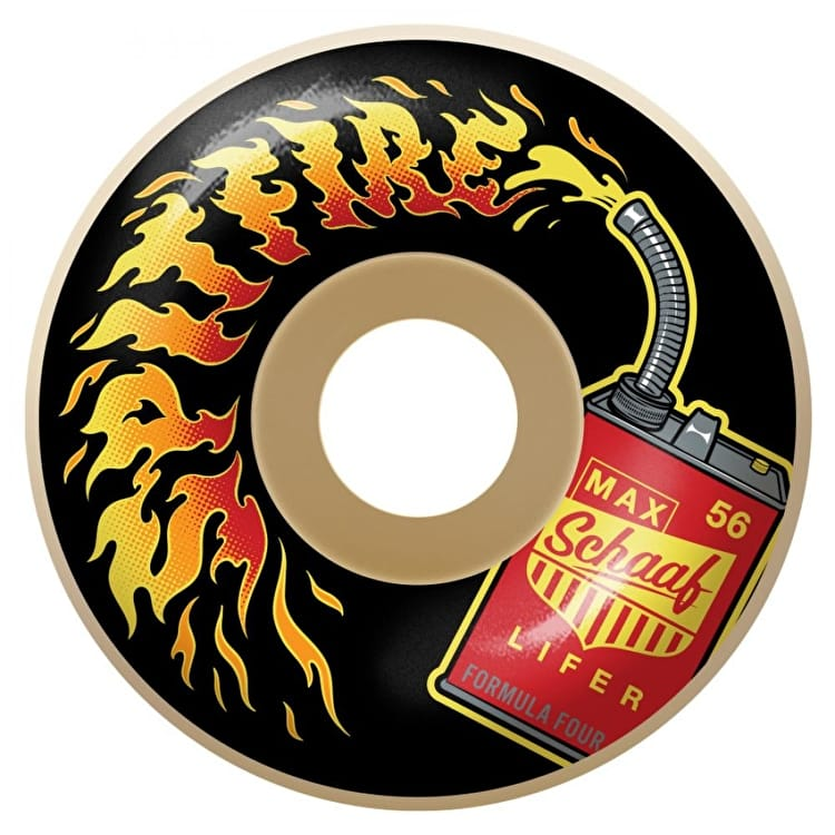 spitfire wax. spitfire formula four schaaf lifers 99d skateboard wheels - 56mm wax